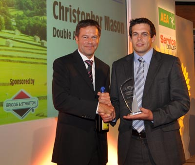 Apprentice of the Year - Christopher Mason, Double A Trading Company